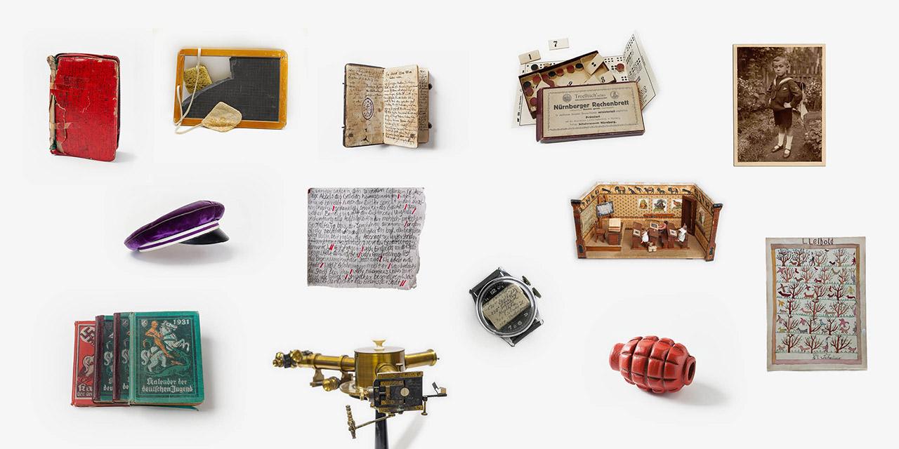 Unterschiedliche Objekte der Sammlung. Foto: Eberle & Eisfeld, Berlin. Georg Pöhlein, Erlangen. David Stein, Nürnberg.