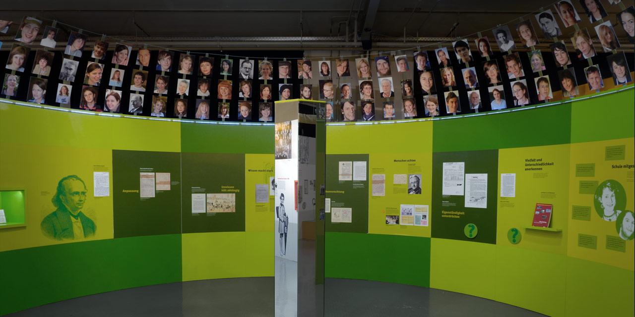 Ein Blick in die Dauerausstellung. Foto: David Stein, Nürnberg