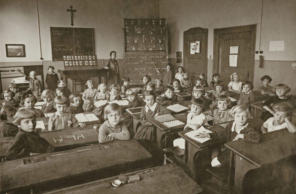 Eine Nürnberger Schulklasse, 1930er Jahre. Foto: Schulgeschichtliche Sammlung Nürnberg