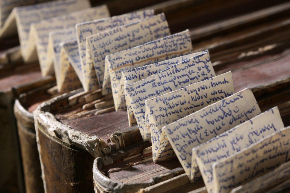 Polnischer Spickzettel für Geschichte (Foto: Georg Pöhlein)