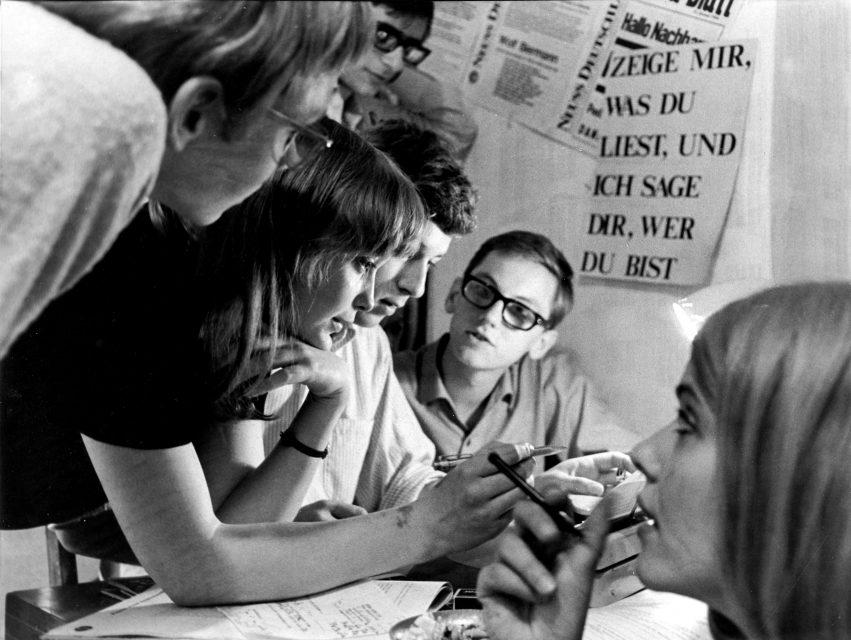 1968 Kontext Klassenkampf Schülerzeitungsredaktion Peter Brandt